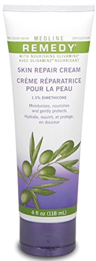 割り当てるスーダン分析Medline Remedy with Olivamine Skin Repair Cream 4oz 118ml