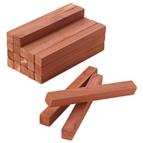 無印良品 レッドシダーブロック 20本入(約幅10cm×1×1cm)