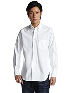 Standard Fit Cambridge Oxford Buttondown Shirt: D55WOO White