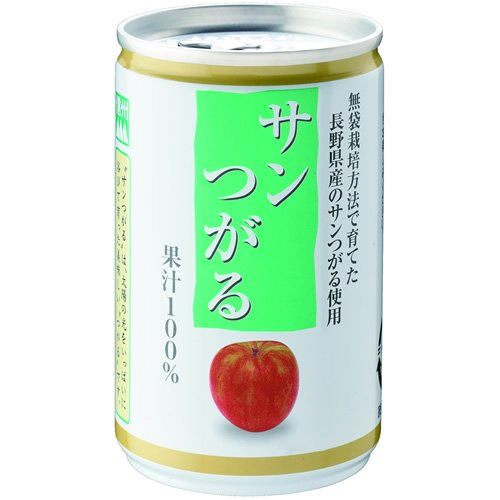 信州 サンつがる りんごジュース 160g*30本入