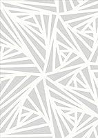 igsticker ポスター ウォールステッカー シール式ステッカー 飾り 728×1030㎜ B1 写真 フォト 壁 インテリア おしゃれ 剥がせる wall sticker poster 012621 モノトーン グレー 柄