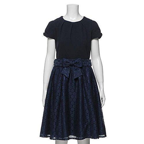 ワンピース×スカート3WAYドレス 紺 LL(165)