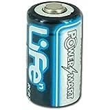 PowerSmart FUJI/フジ CR2, 対応互換 デジタルカメラ 用バッテリー 充電池