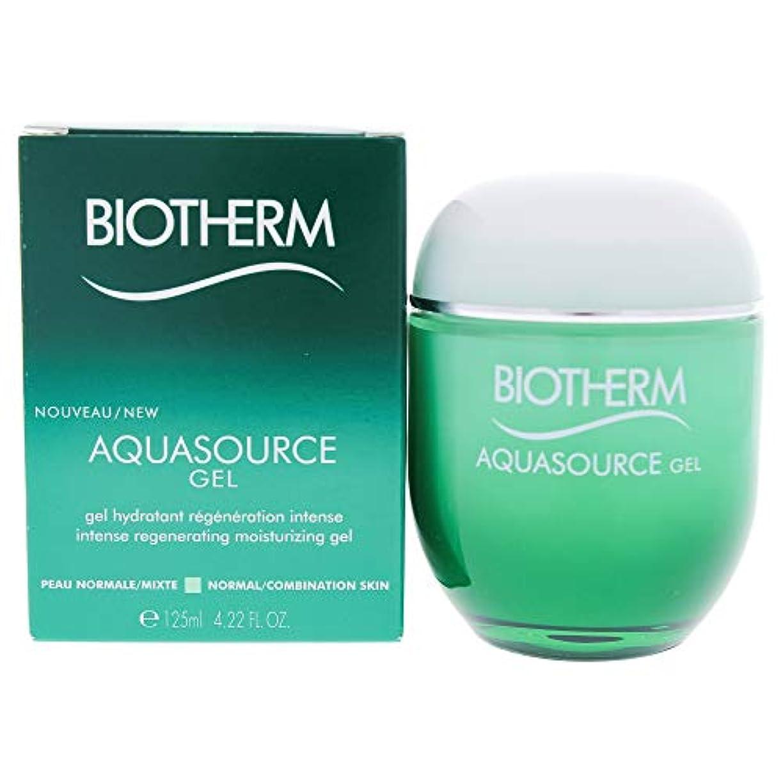 品種セールインタネットを見るビオテルム Aquasource Gel Intense Regenerating Moisturizing Gel - For Normal/Combination Skin 125ml/4.22oz並行輸入品