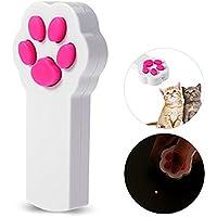 Tendouko 猫おもちゃ 猫じゃらし  LEDポインター 光るおもちゃ 電池式 猫運動不足解消 ストレス解消 じゃれ猫(電池なし)