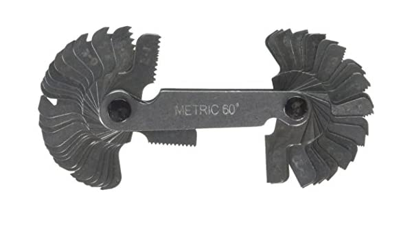 whitworth Faithfull faipitchmw screw pitch gauge 52 metric