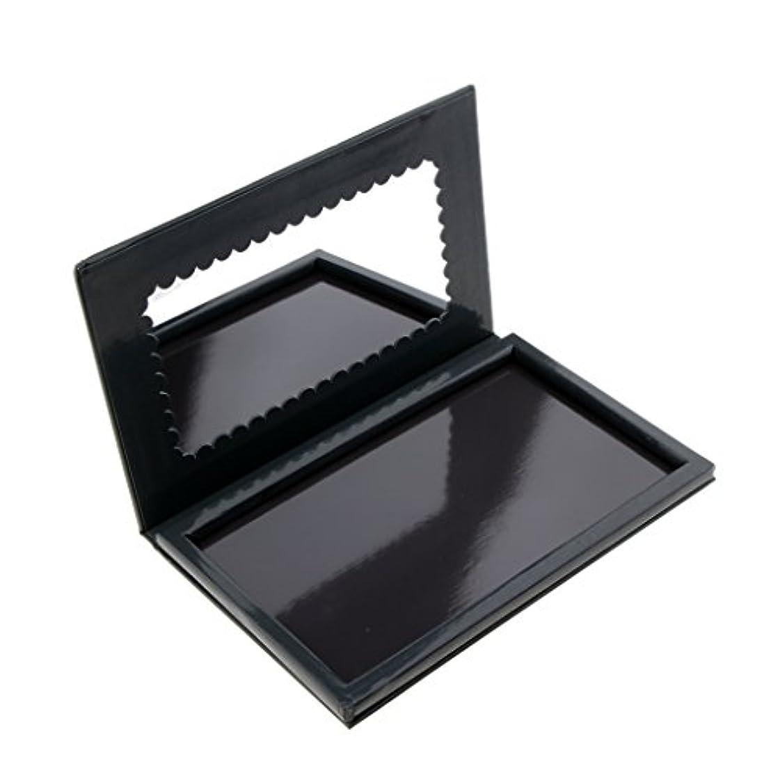 メタリック出血トリプルHomyl メイクアップパレット 磁気パレット コスメ 詰替え DIY 収納 ボックス メイクアップ