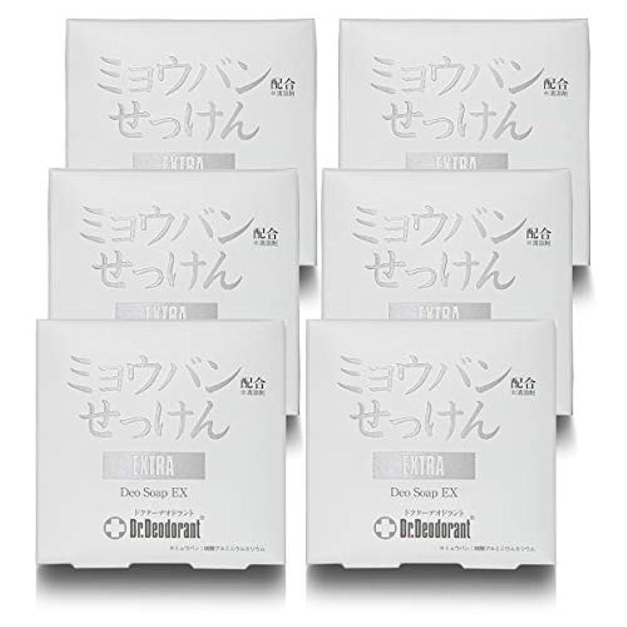 ビヨンメロディー吸うドクターデオドラント 薬用ミョウバンせっけんEX (6個セット)