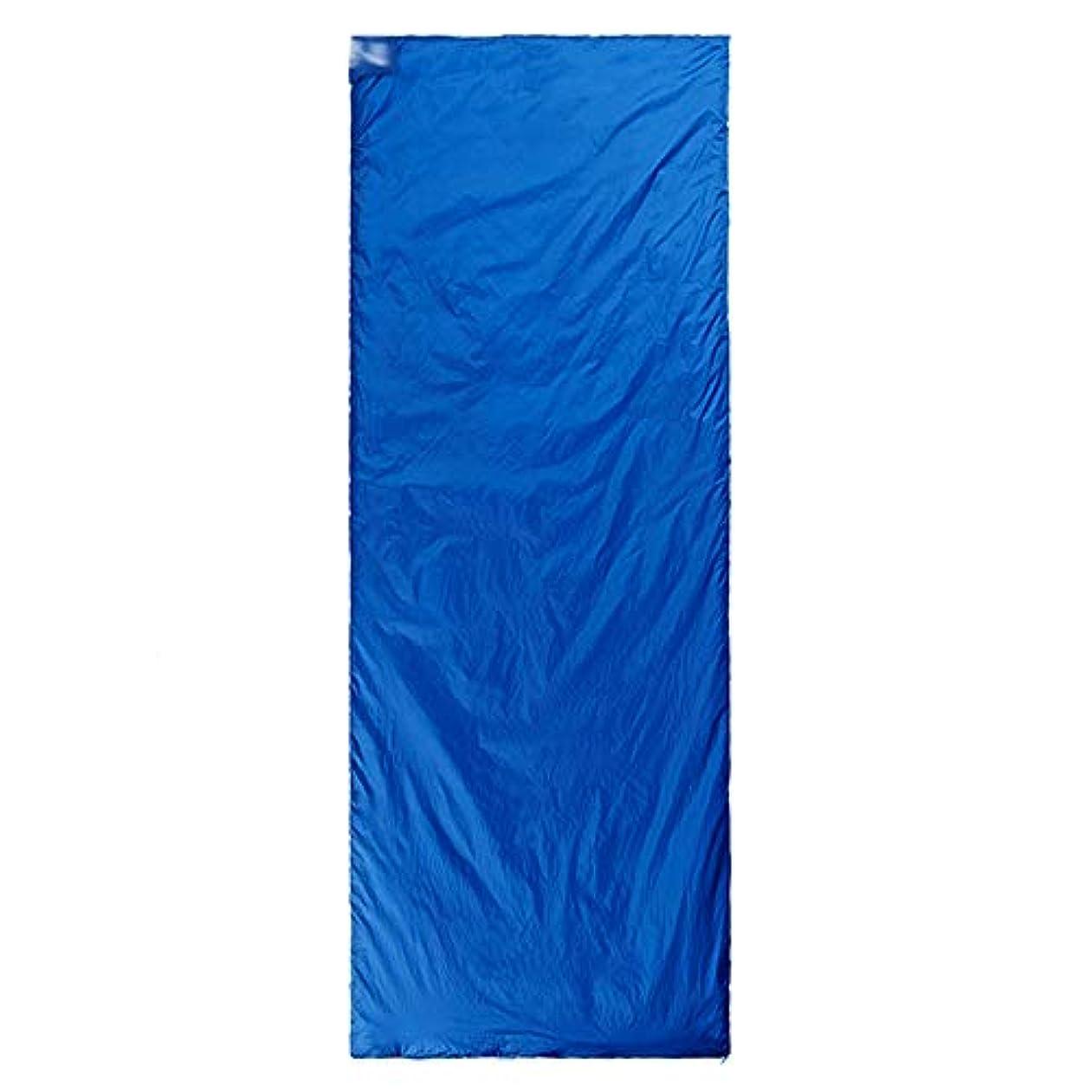 水陸両用かる比較TLMYDD 寝袋拡張シングルテント四季キャンプ通気性の快適なポータブル5色 寝袋 (Color : Dark blue)
