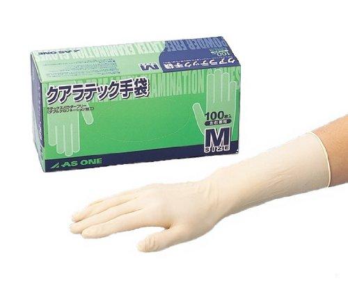 アズワン クアラテック手袋 DXパウダーフリーM/8-4053-02