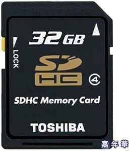 東芝 SDHCカード 32GB Class4 Toshiba 並行輸入 海外向けパッケージ品 [PC]
