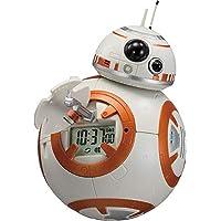 スター・ウォーズ BB-8 目覚まし時計 デジタル時計 音声・アクション付き オレンジ リズム時計 8RDA74MC03