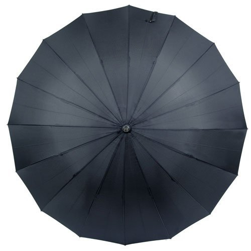煌(kirameki) 高強度16本骨耐風傘 インディゴ (濃紺) 【直径108cmのジャンボサイズ/専用ギフトボックス入り/選べる10カラー/デュポン社製撥水テフロン加工】
