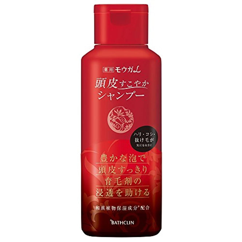 韓国語昼間直立モウガL 薬用頭皮すこやかシャンプー 240ml