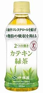 伊藤園2つの働きカテキン緑茶350ml×72本【24本×3ケース】 トクホ飲料
