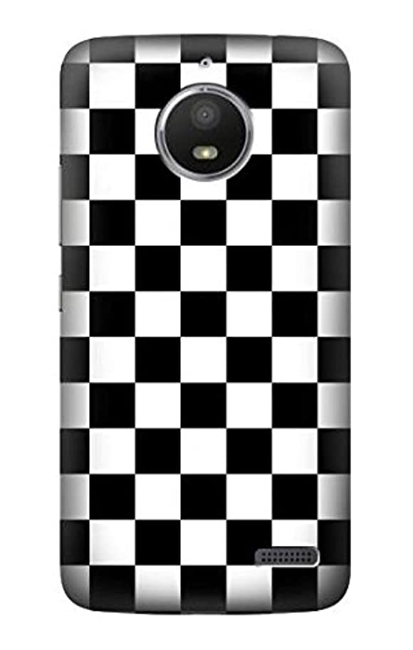 JP1611ME4 チェッカーボード Checkerboard Chess Board Motorola Moto E4 ケース