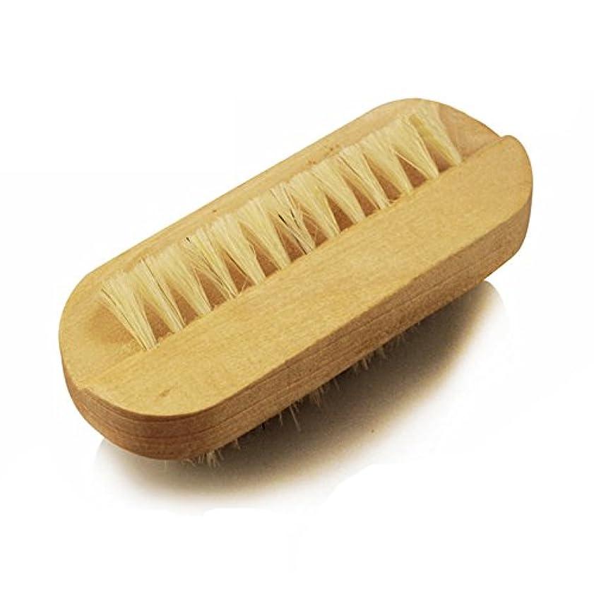 顕著主婦木材ボディブラシ 木製ブラシ Hrph ネイルブラシ フットブラシ 足の裏ブラシ ネイルハンドブラシ 手洗いブラシ 爪ブラシ 木柄ブラシ 豚毛ブラシ マッサージャー セルライト除去 角質除去