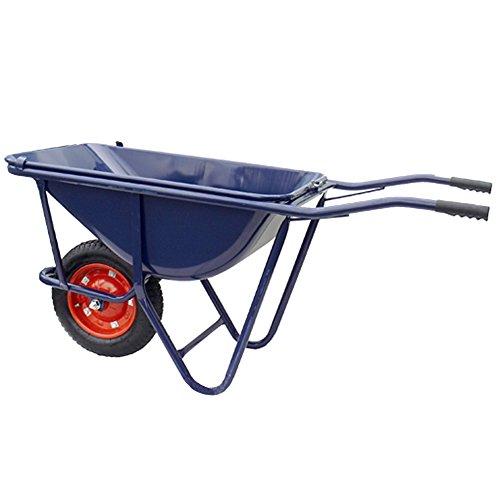 運送用 一輪車 ブルー 深型