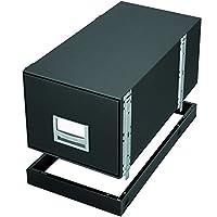 (Black) - Bankers Box Metal Base for StaxonSteel Storage Drawers, Legal (15602)