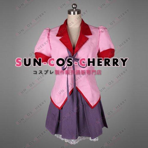 【サイズ選択可】コスプレ衣装 N-188 化物語 バケモノガタリ 羽川 翼 はねかわ つばさ 女子制服 女性Mサイズ