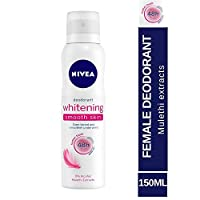 Nivea Whitening Smooth Skin Deodorant, 150ml(Ship from India)