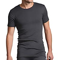 Heat Holders Men's Warm Winter Thermal Short Sleeve T-Shirt Vest