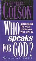 Who Speaks for God?