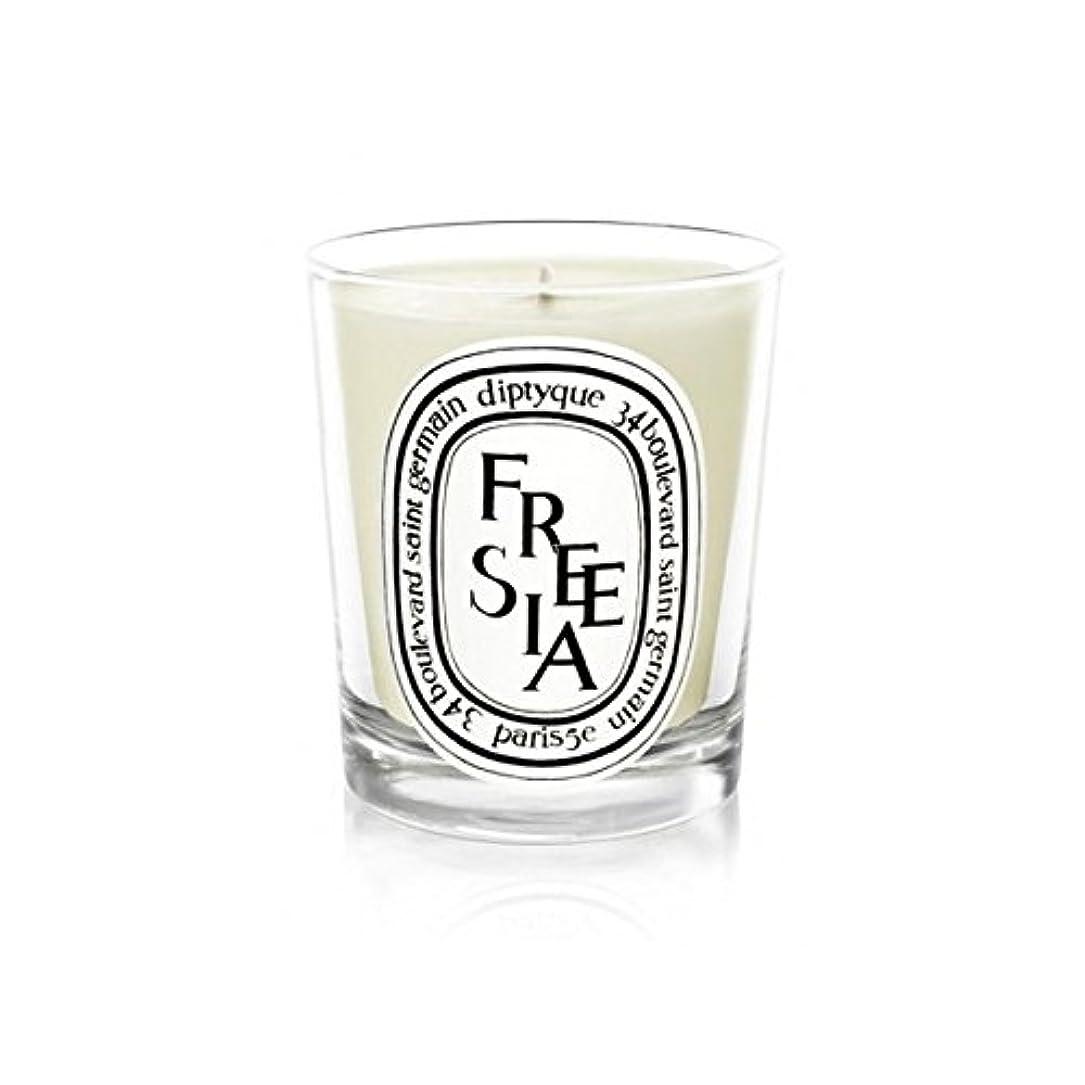 バーガー手荷物枯渇Diptyque Candle Freesia / Freesia 190g (Pack of 2) - Diptyqueキャンドルフリージア/フリージアの190グラム (x2) [並行輸入品]