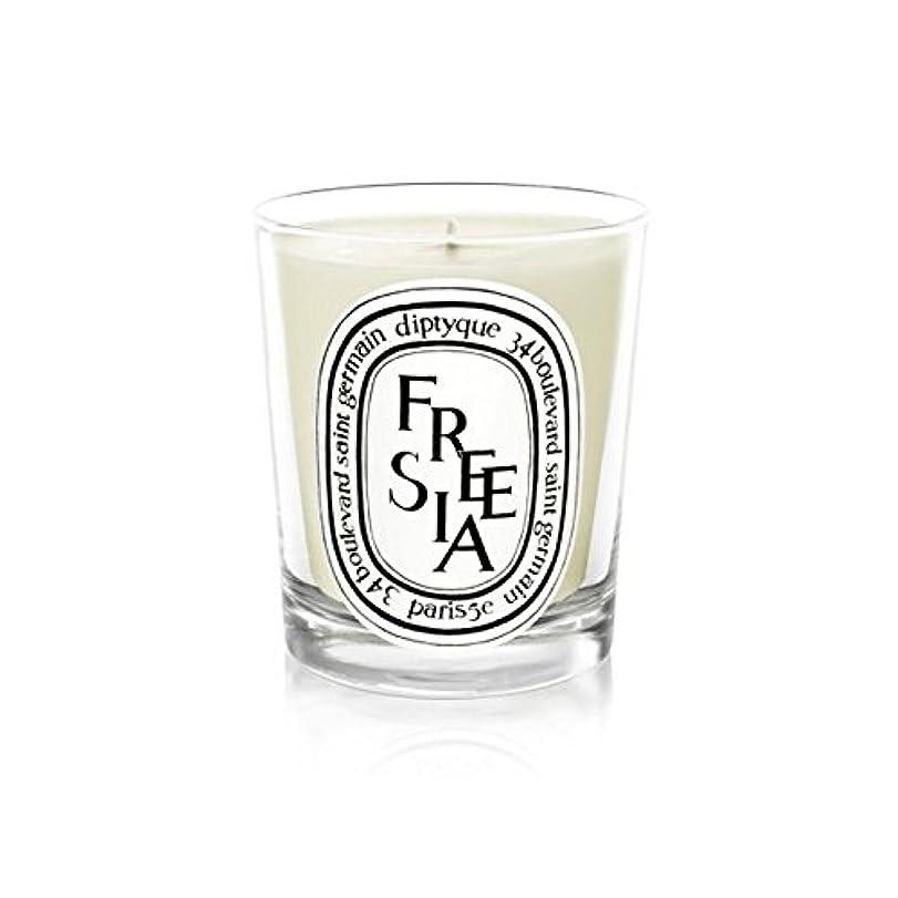 つま先ロンドン豚Diptyque Candle Freesia / Freesia 190g (Pack of 6) - Diptyqueキャンドルフリージア/フリージアの190グラム (x6) [並行輸入品]