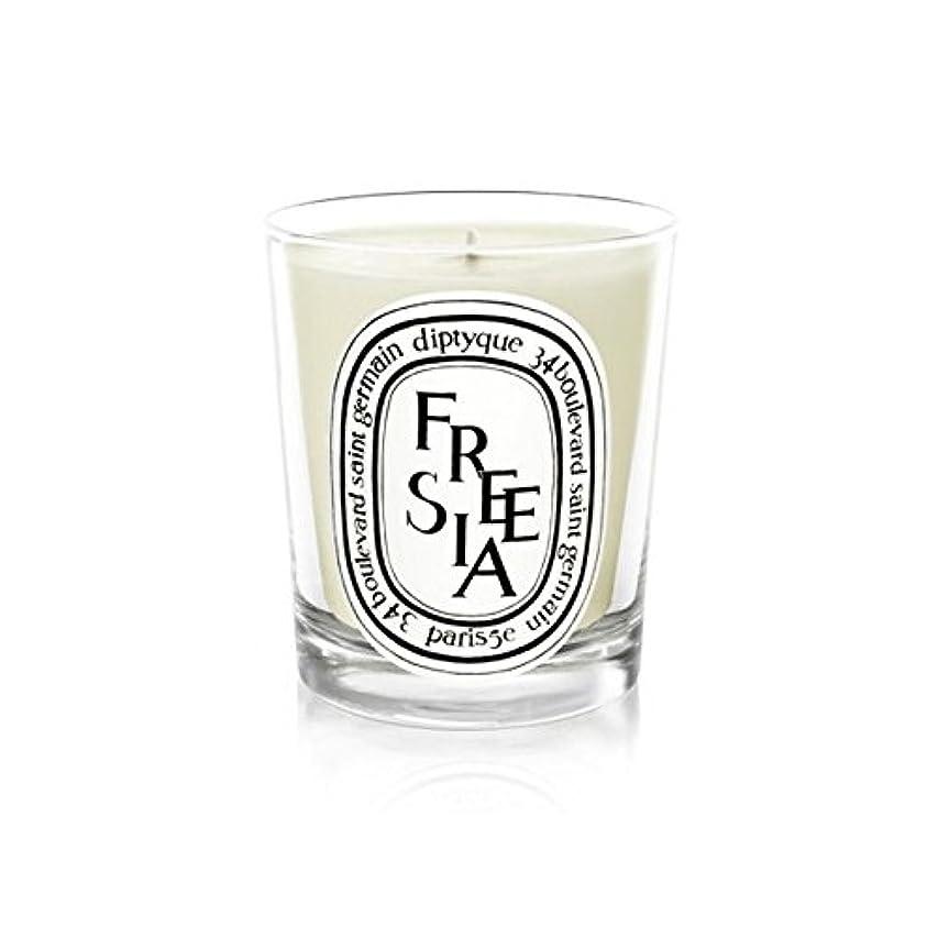 生き残りクライマックス人類Diptyque Candle Freesia / Freesia 190g (Pack of 6) - Diptyqueキャンドルフリージア/フリージアの190グラム (x6) [並行輸入品]