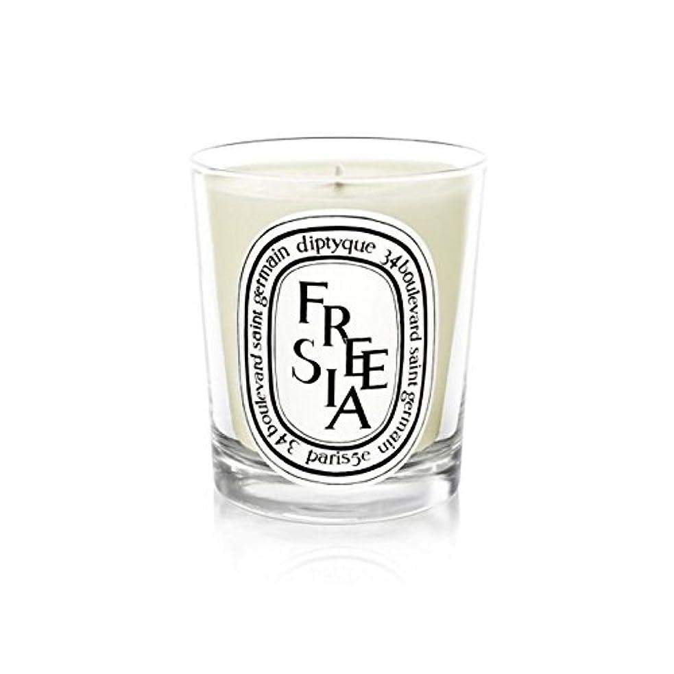 時系列樹皮甘美なDiptyqueキャンドルフリージア/フリージアの190グラム - Diptyque Candle Freesia / Freesia 190g (Diptyque) [並行輸入品]