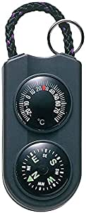 ENPEX(エンペックス) アナログ温度計・コンパス サーモ&コンパス ブラック FG-5122