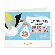 Amazonギフト券- 印刷タイプ(PDF) - 出産祝い(こうのとり)