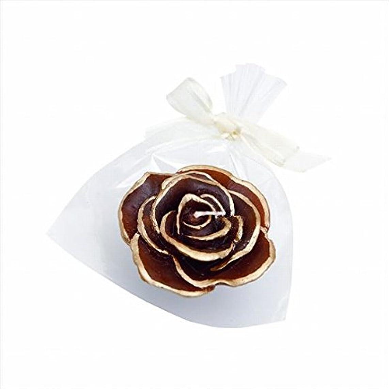 ポーク標高ミリメーターカメヤマキャンドル(kameyama candle) プリンセスローズ 「 チョコレート 」