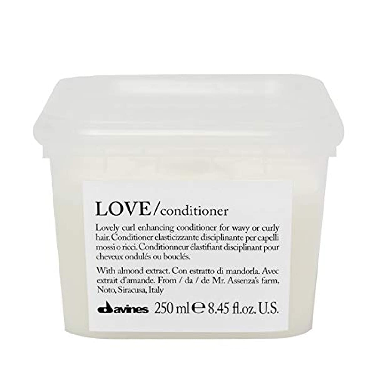 お風呂を持っている同一性持参[Davines ] コンディショナー250メートルを強化ダヴィネス愛カール - Davines Love Curl Enhancing Conditioner 250m [並行輸入品]
