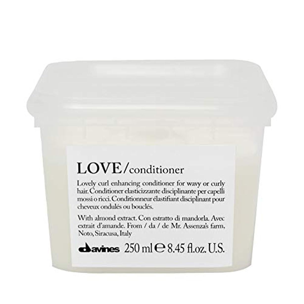 お香異常によると[Davines ] コンディショナー250メートルを強化ダヴィネス愛カール - Davines Love Curl Enhancing Conditioner 250m [並行輸入品]