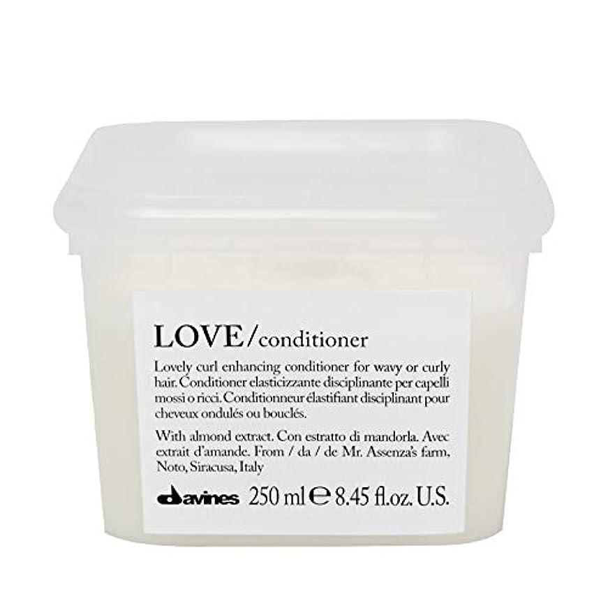 乗って起きているクライマックス[Davines ] コンディショナー250メートルを強化ダヴィネス愛カール - Davines Love Curl Enhancing Conditioner 250m [並行輸入品]