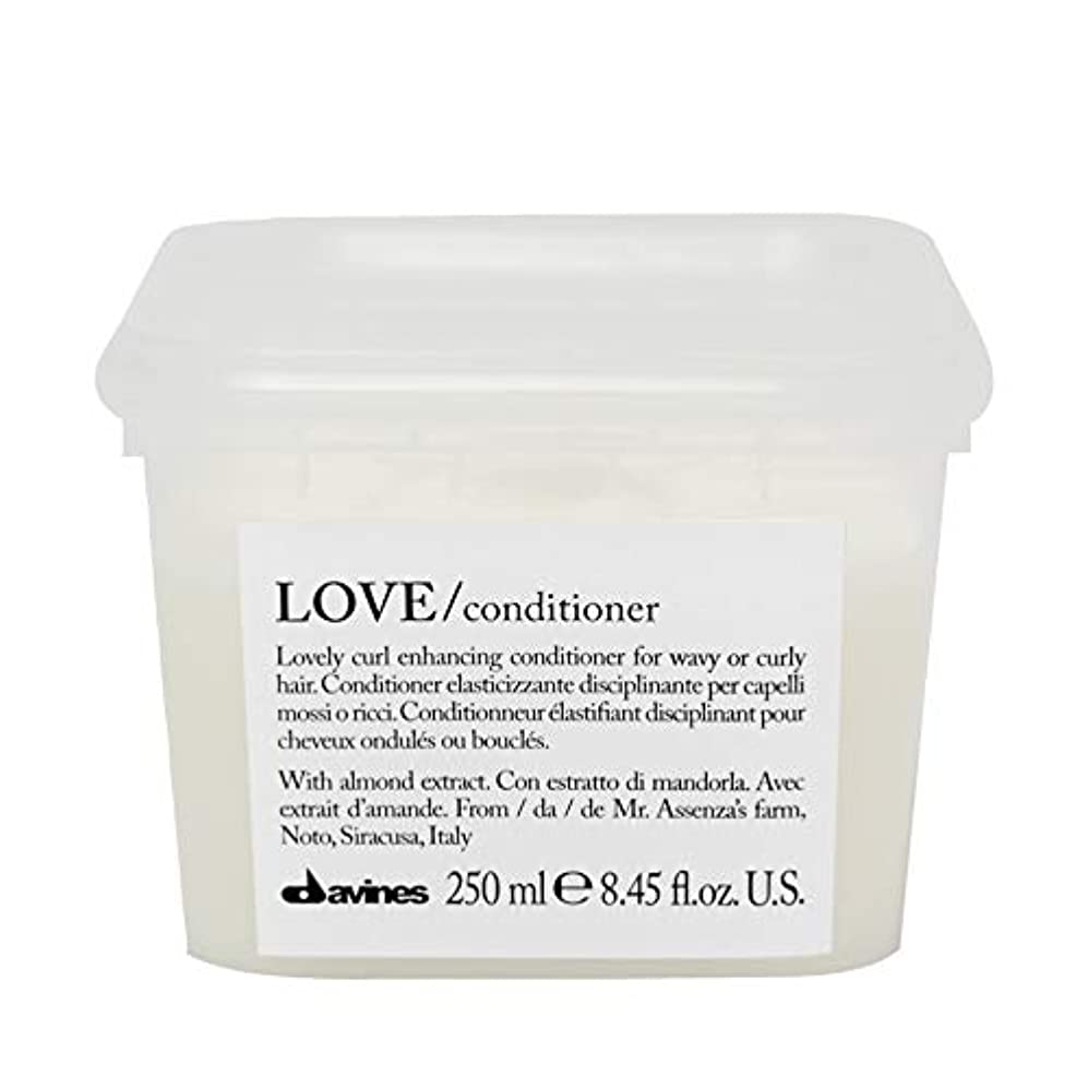 マークペインティング留め金[Davines ] コンディショナー250メートルを強化ダヴィネス愛カール - Davines Love Curl Enhancing Conditioner 250m [並行輸入品]
