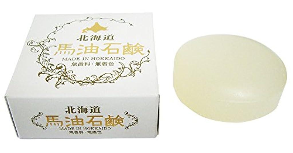 広げる反応するチップ北海道 馬油石鹸 HSクリスタルソープIB