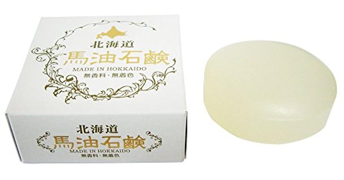 おびえた引数十分ではない北海道 馬油石鹸 HSクリスタルソープIB