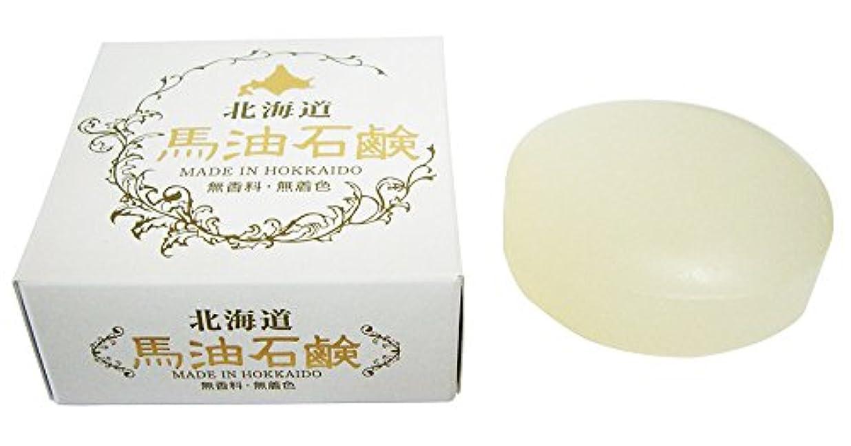 注入阻害する膨張する北海道 馬油石鹸 HSクリスタルソープIB