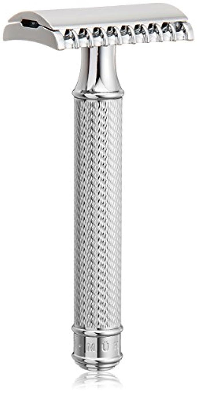 法令心のこもった蒸し器ミューレ TRADITIONALクラシックレイザー?オープンコム メタル R41