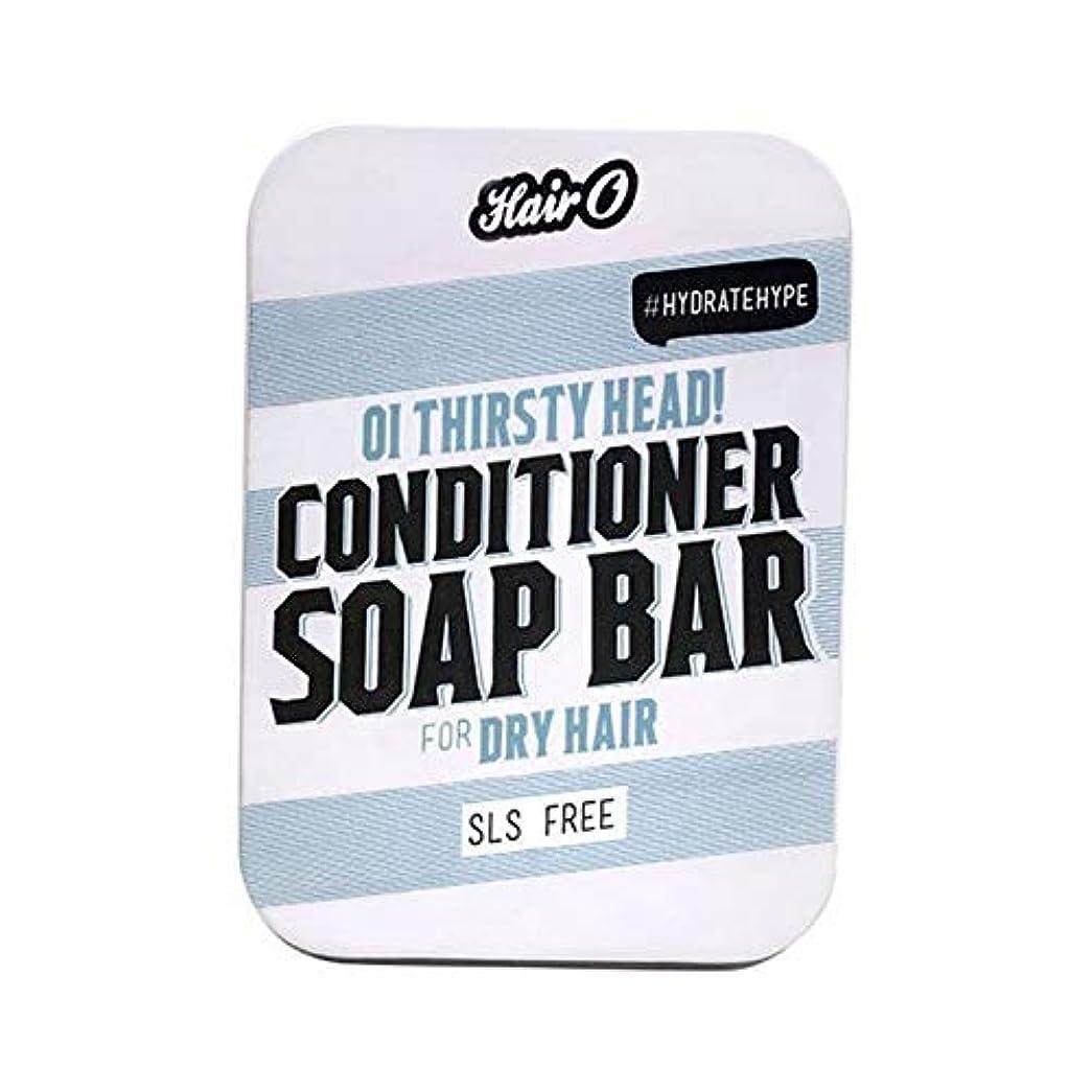 大砲花婿モス[Hair O ] 大井のどが渇いヘッドコンディショナーソープバー100グラムO毛 - Hair O Oi Thirsty Head Conditioner Soap Bar 100g [並行輸入品]