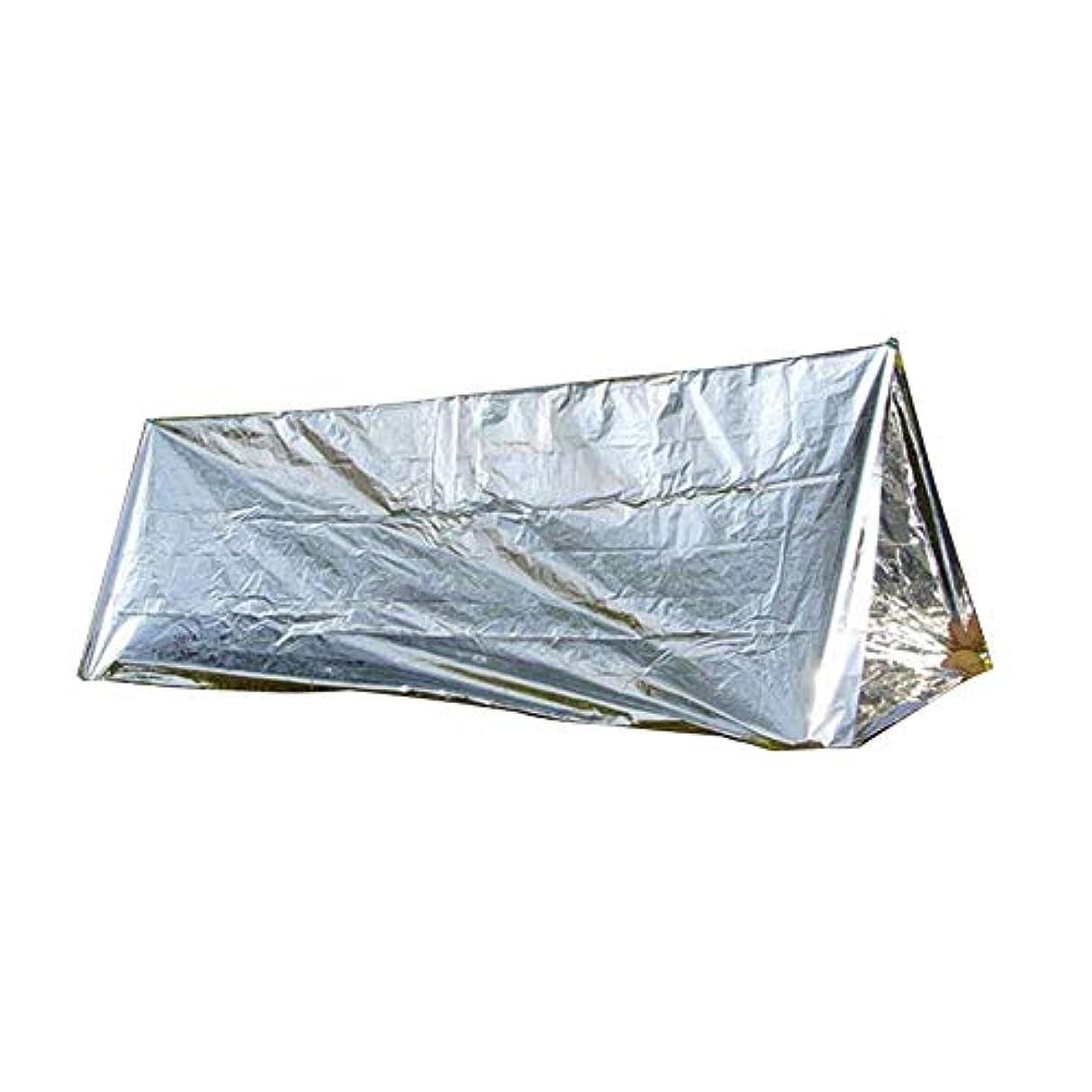 レジ漫画石膏Smile緊急ブランケット 応急処置用テント 防水旅行キャンプテント ポータブル多機能 日焼け止めサバイバル 天候保護 1個