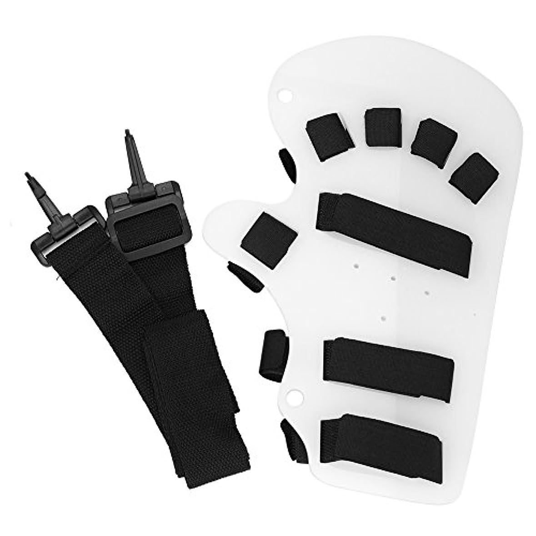 脚本に付ける規制するフィンガートレーニング装置 手指用ストレッチボード 指指を伸ばして 指の訓練装置 指矯正 麻痺指の矯正肢/脳卒中/外傷性脳損傷