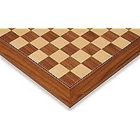 Black Walnut & Maple Deluxe Chess Board - 2.375