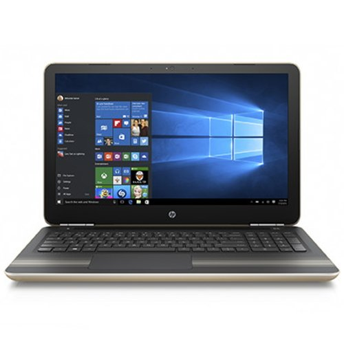 HP Pavilion 15-au107TU Windows10 Corei5-7200U 4GB 大容量1TB DVDスーパーマルチ 高速無線LAN IEEE802.11ac/a/b/g/n Bluetooth 92万画素webカメラ 10キー付バックライトキーボー B&O Playデュアルスピーカー 15.6型フルHD液晶ノートパソコン モダンゴールド