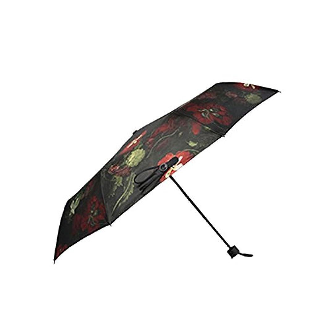 戦略スクラップブック方法旅行用傘 女性のためのコンパクト旅行傘ファッショナブルなパラソル傘、テフロンコーティングと防風の紫外線保護 - 高速乾燥強力&ポータブル UVカット