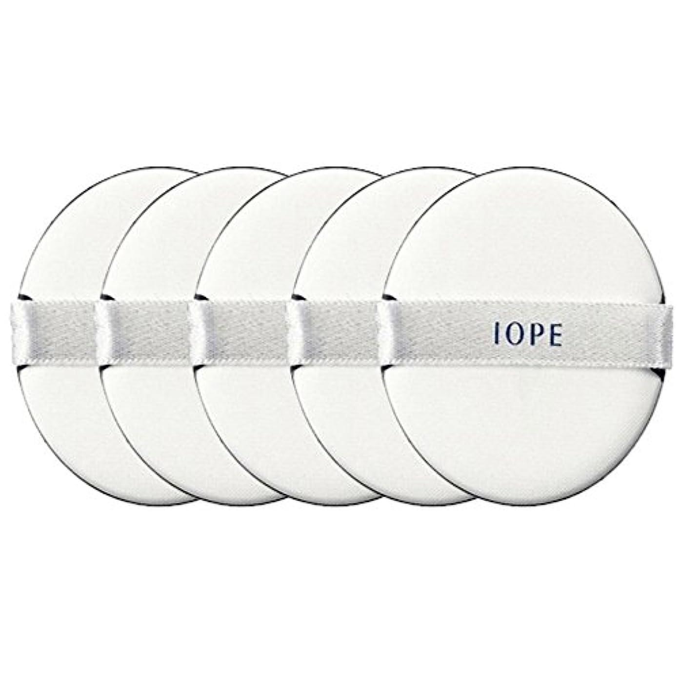 オーバードロー拮抗接尾辞[IOPE] パフ / アイオペエアークッションサンブロック専用のパフ5枚セット [並行輸入品]
