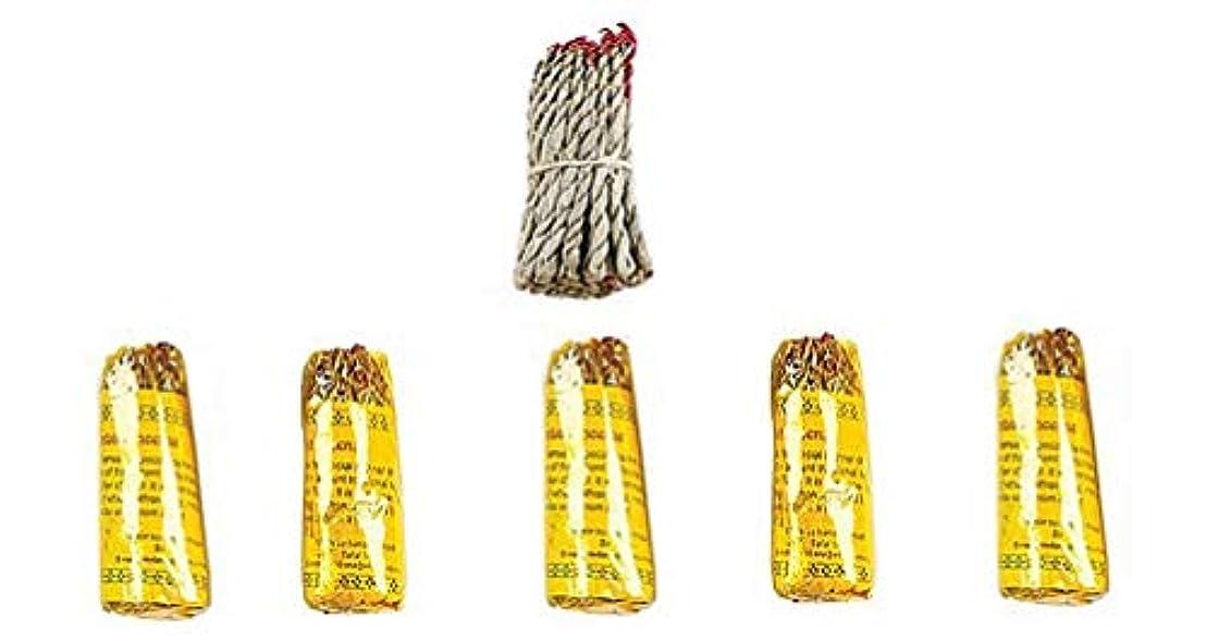 標準チョコレート欺くルンビニRope Incense Dhoop ( 6 in 1パケット)